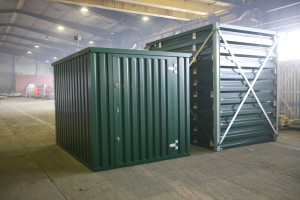 SAFE Co offers several lines of flat pack containers for every use.